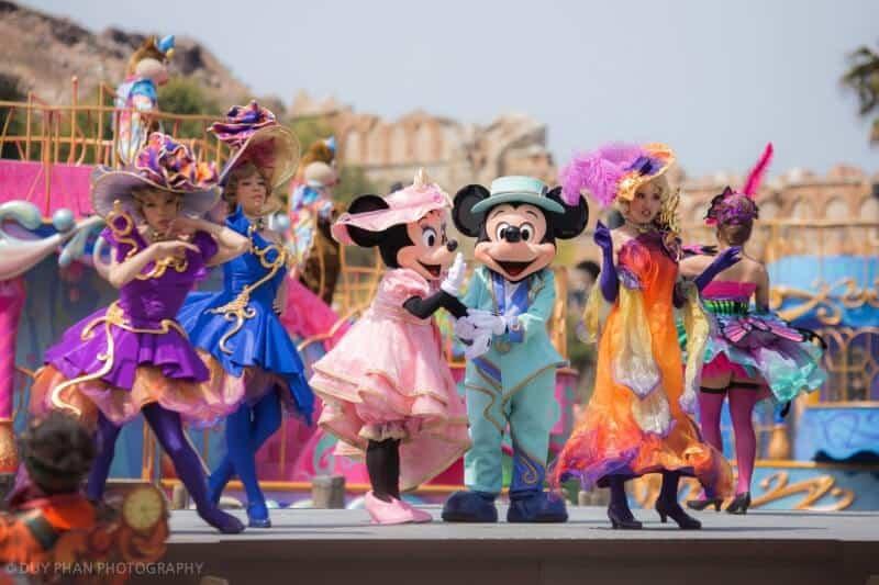 Fashionable Easter Tokyo DisneySea Mickey and Minnie American Waterfront
