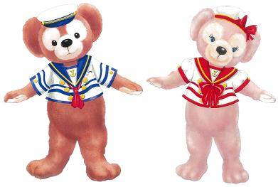 Journeys with Duffy Costumes Greeting Tokyo DisneySea