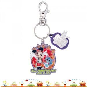 Keychain Tokyo Disneyland 32nd Anniversary