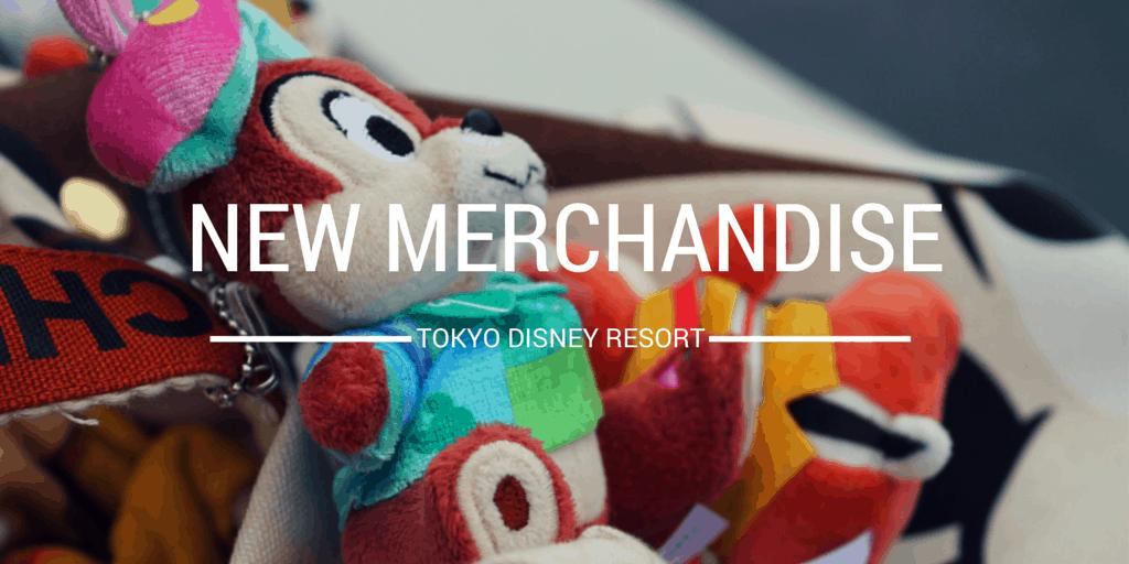Merchandise Update for Tokyo Disney Resort