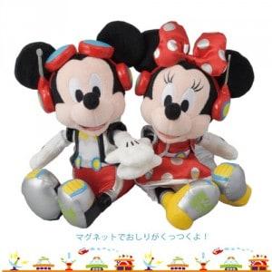 Mickey and Minnie Plush Tokyo Disneyland 32nd Anniversary