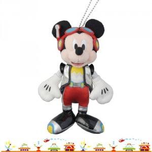 Mickey Stuffed Badge Tokyo Disneyland 32nd Anniversary