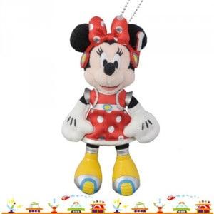 Minnie Stuffed Badge Tokyo Disneyland 32nd Anniversary