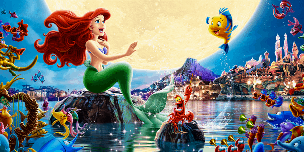 Video of King Triton's Concert at Tokyo DisneySea