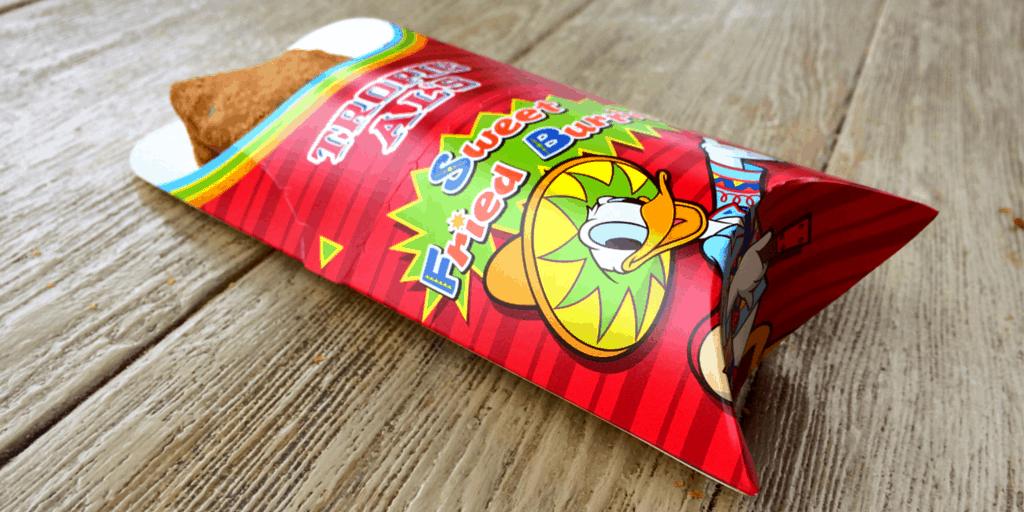 Sweet Fried Burrito at Tokyo DisneySea