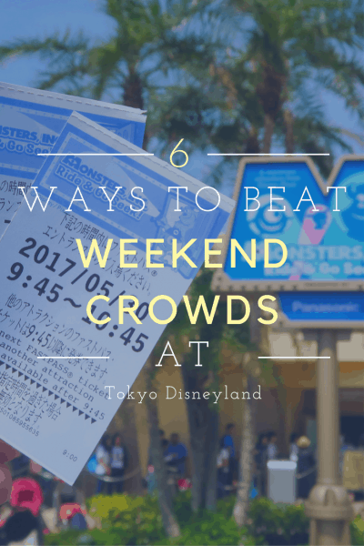 Weekend Survival Guide at Tokyo Disney Resort Pinterest