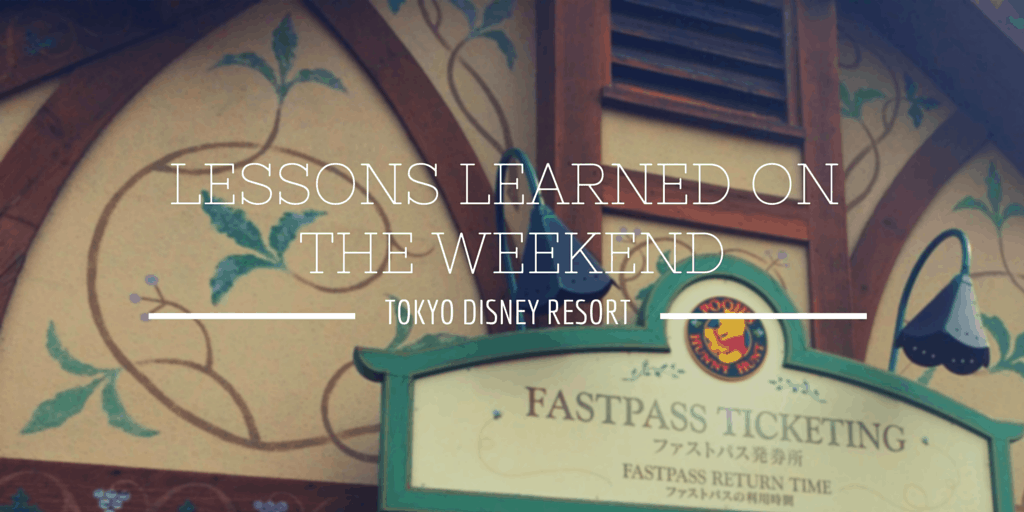 What I Learned Visiting Tokyo Disneyland on the Weekend