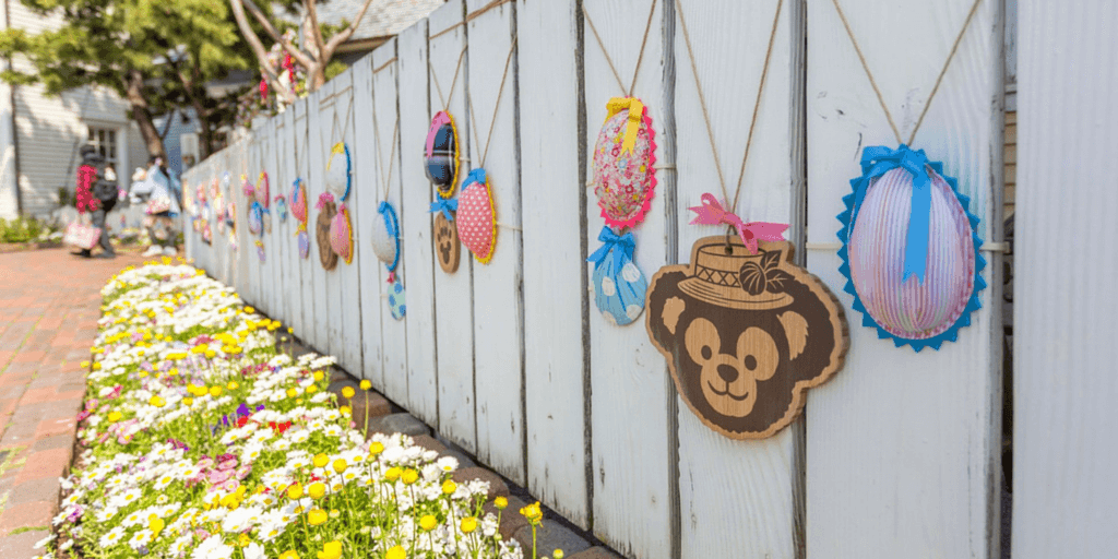 Beautiful Photos of Duffy's Easter Fair 2015 at Tokyo DisneySea