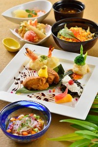 Special Set ¥2,880 Available at Restaurant Sakura