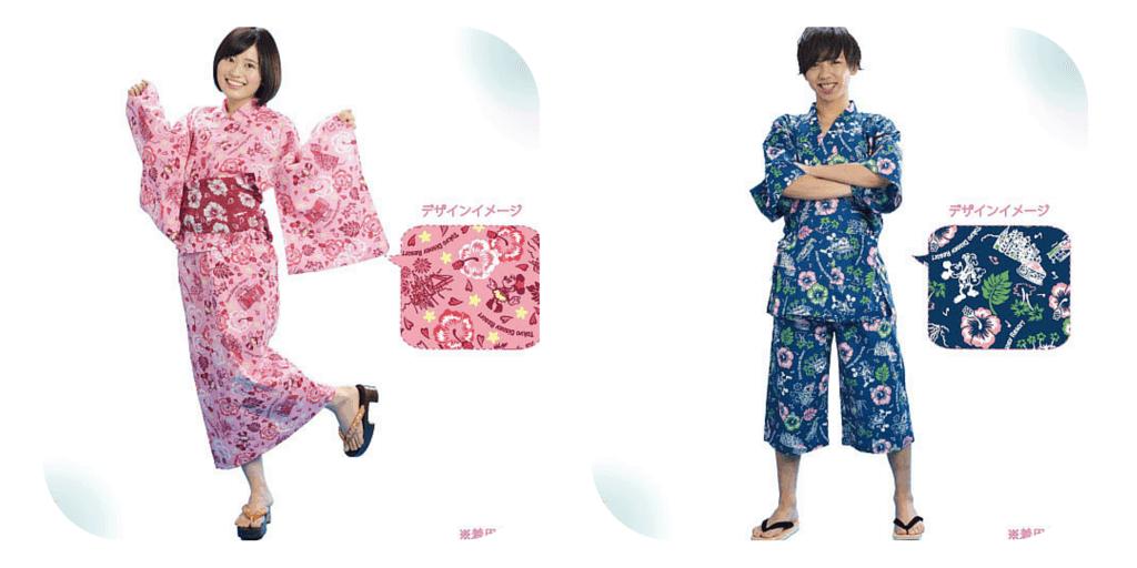 Disney Inspired Summer Yukata Available at Tokyo Disney Resort