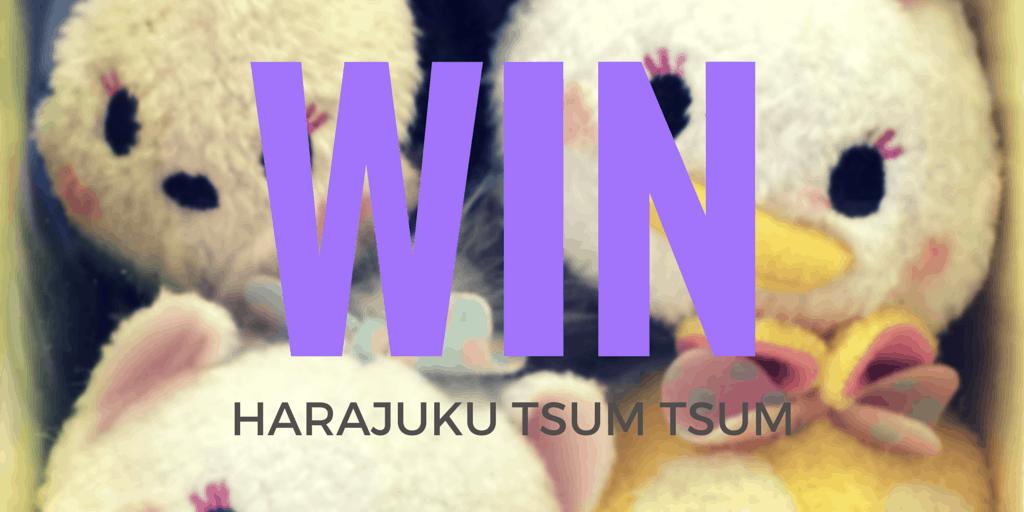 Limited Harajuku Tsum Tsum Giveaway