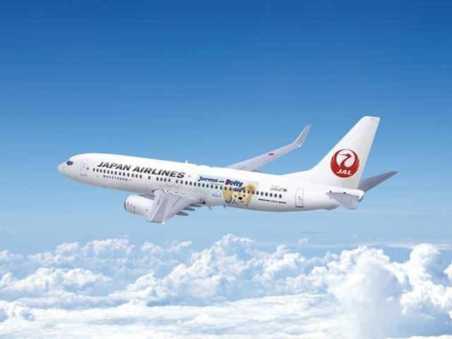 Rendering for JAL Aircraft