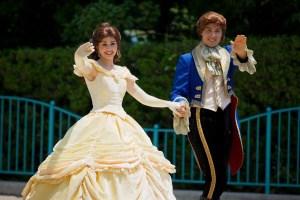 Belle and Beast Tanabata Days 2015 Tokyo Disneyland