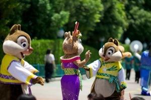Chip N Dale and Clarice Tanabata Days 2015 Tokyo Disneyland