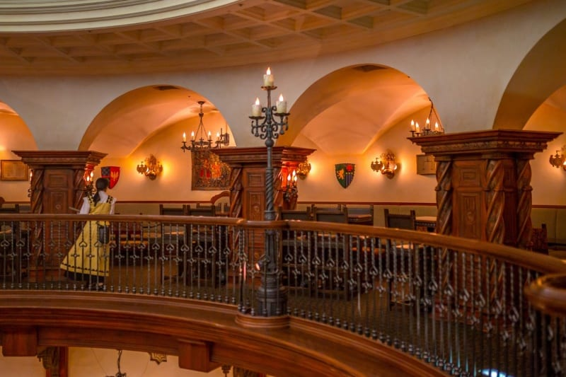 Dining Room Top Level Seating Magellans Review Tokyo DisneySea