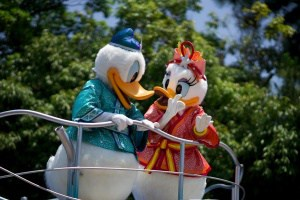 Donald and Daisy Tanabata Days 2015 Tokyo Disneyland