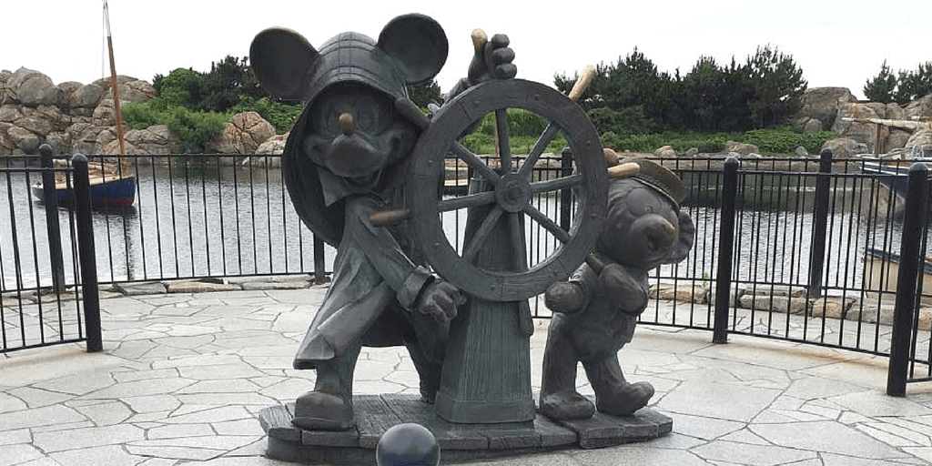Journeys With Duffy Your Friend Forever Statue Tokyo DisneySea