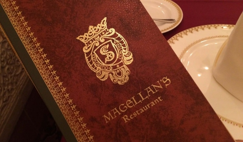 Magellans Menu 30th Birthdy at Tokyo DisneySea