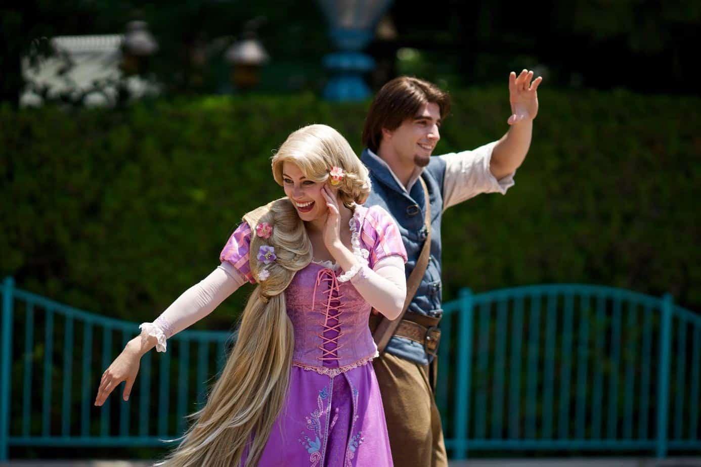 Rapunzel And Flynn Tanabata Days 2015 Tokyo Disneyland