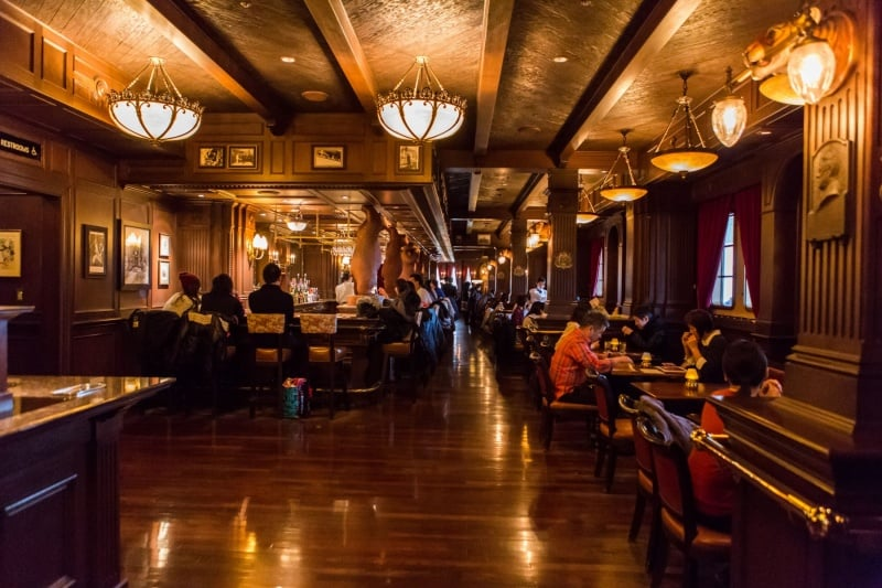 Teddy Roosevelt Lounge is stunning! Look at this photo.