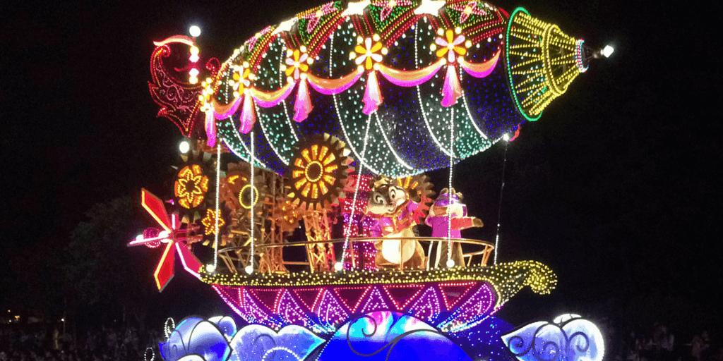 Tangled Float in Tokyo Disneyland Electrical Parade Dreamlights Debuts