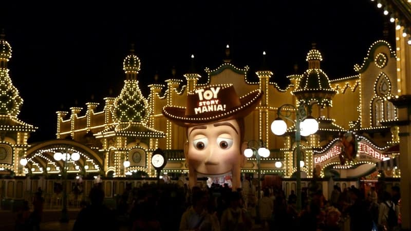 Toy Story Mania Nighttime