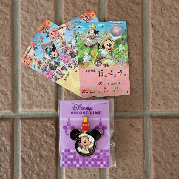 How to get the Tokyo Disney Resort Liner Pin