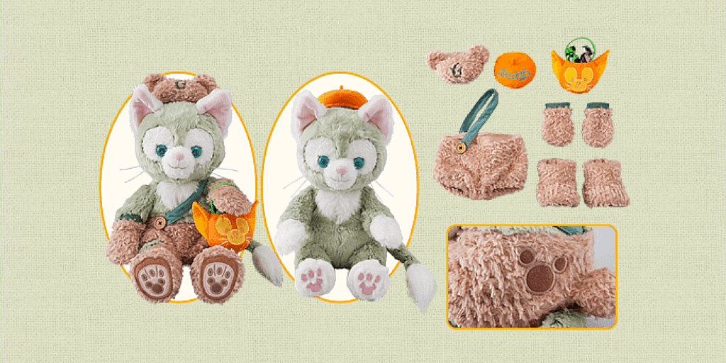 Duffy Autumn Palette Merchandise and Menu for Halloween 2015 & Duffy Halloween 2015 Merchandise | TDR Explorer