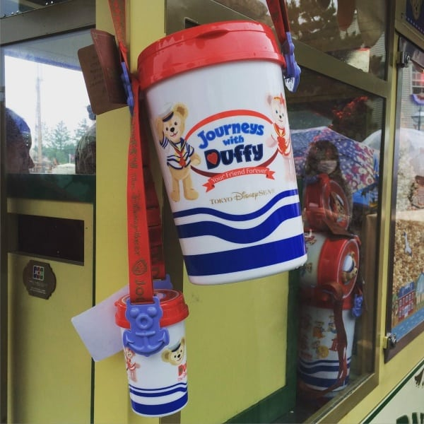 Journeys with Duffy Popcorn Bucket Tokyo DisneySea