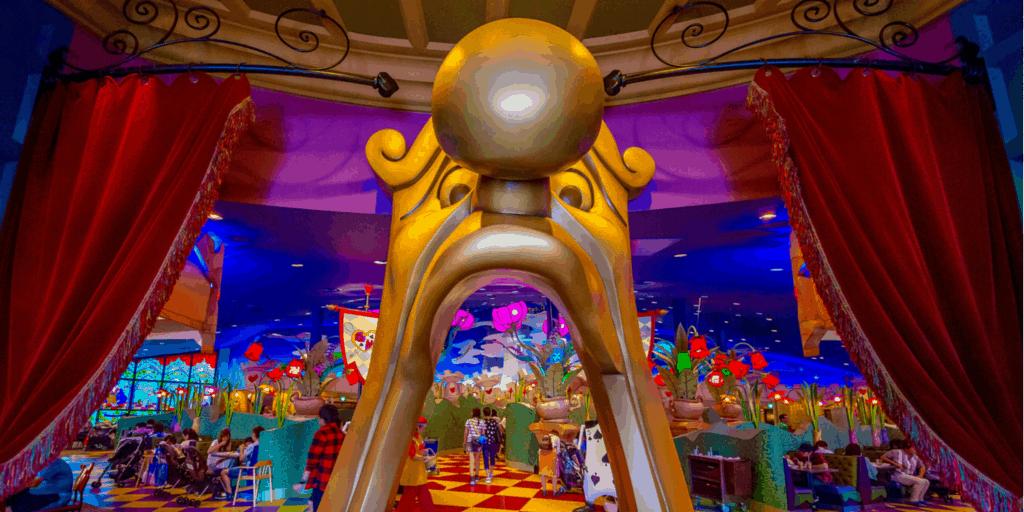 Queen of Hearts Banquet Hall Review Tokyo Disneyland TDR Explorer