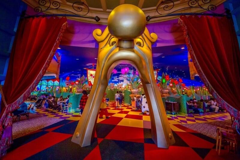Queen of Hearts Banquet Hall at Tokyo Disneyland