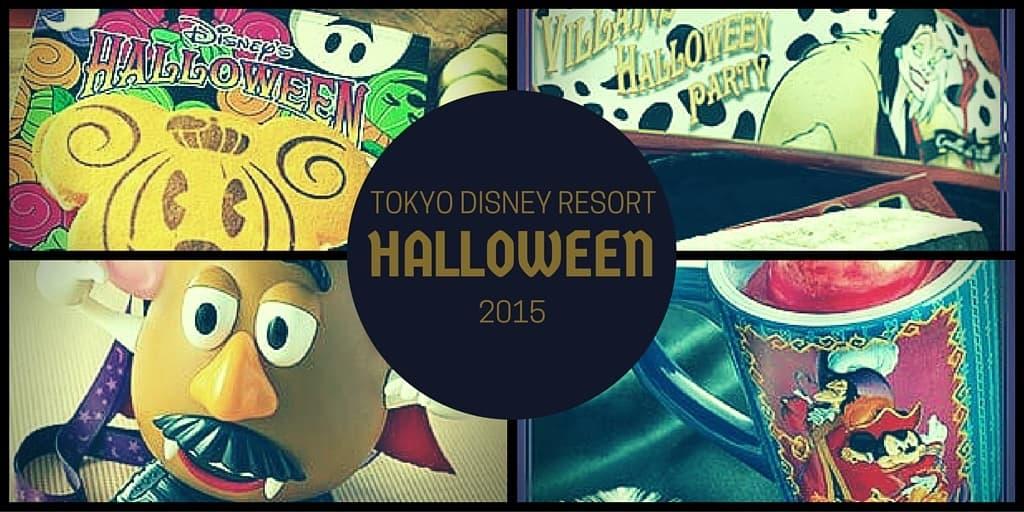 Tokyo Disneyland & Tokyo DisneySea Halloween Menu