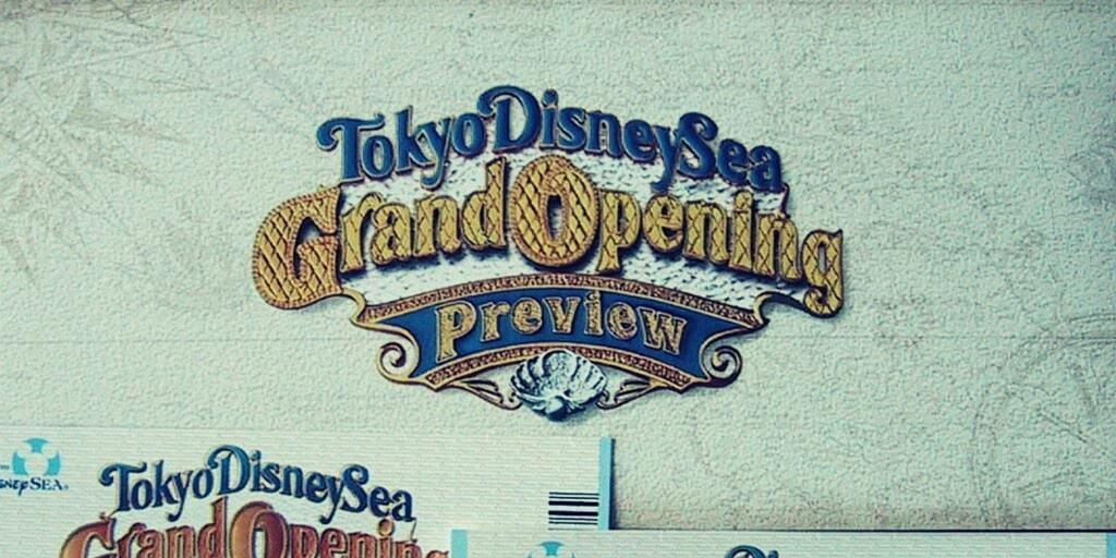 Flashback to Tokyo DisneySea's Opening Day