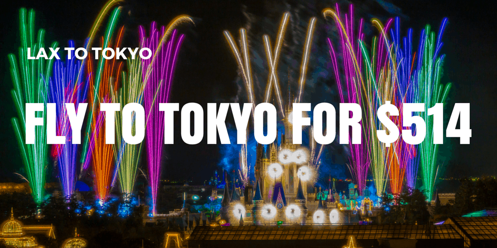 Flight Deal from LAX to Tokyo