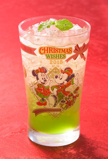 Christmas Wishes Special Non-Alcoholic Cocktail, with Collectible Glass ¥1,860 Please Note: Also available from Silk Road Garden and the BellaVista Lounge