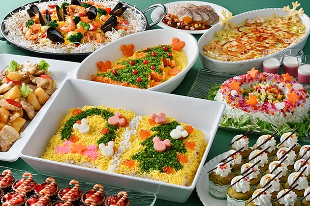 Crystal Palace Restaurant Special Buffet Adults ¥3,090 7 - 12 years ¥1,950 4 - 6-years ¥1,230