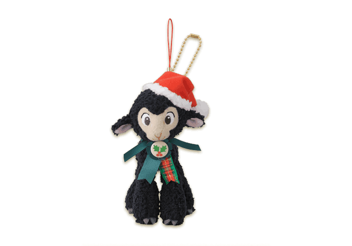 Danny the Lamb Stuffed Badge ¥1,400
