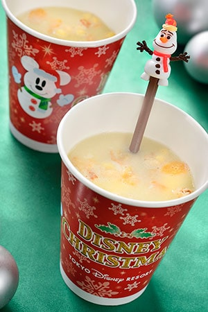 Eggnog ¥350 With Souvenir Spoon ¥750 Available at Royal Street Veranda, Cleo's and Space Place Food Port