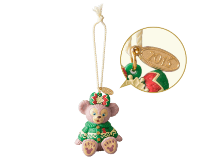 Duffy, Shellie May and Gelatoni Ornaments ¥1,500 each
