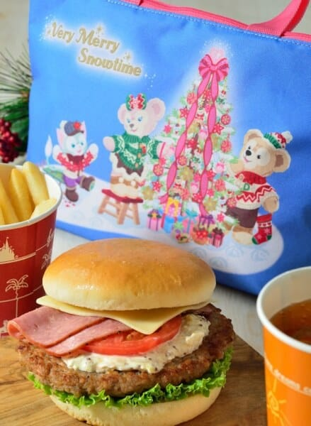 Special Set, with Lunch Case ¥1,950 Meal Only ¥990 Set Includes... Beef Burger with Turkey and Pastrami Fries Soft Drink