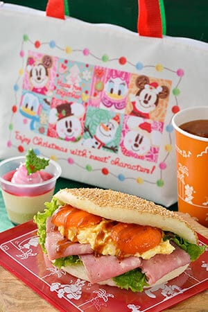 Sweetheart Cafe Special Set, with Souvenir Lunch Case ¥1,820