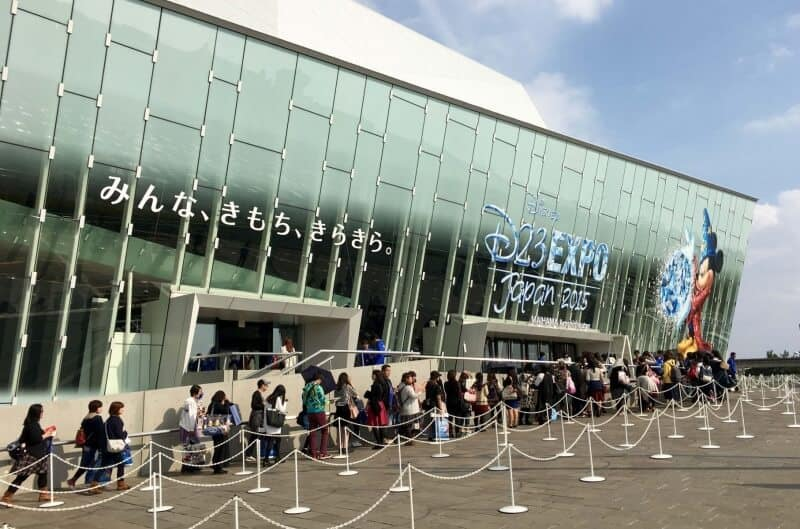 D23 Expo Japan Maihama Amphitheater