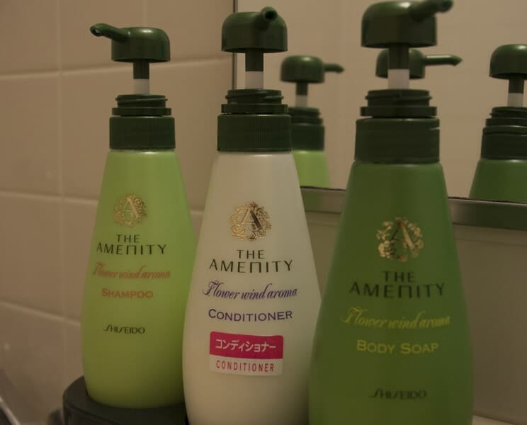 Shampoo, conditioner and body wash are just some of the many toiletries included in your stay.