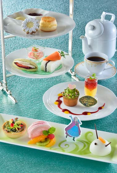 Anna Frozen Fantasy Afternoon Tea Set ¥3,190 Please Note: Anna Afternoon Tea Set will only be available February 15 - March 18, 2016
