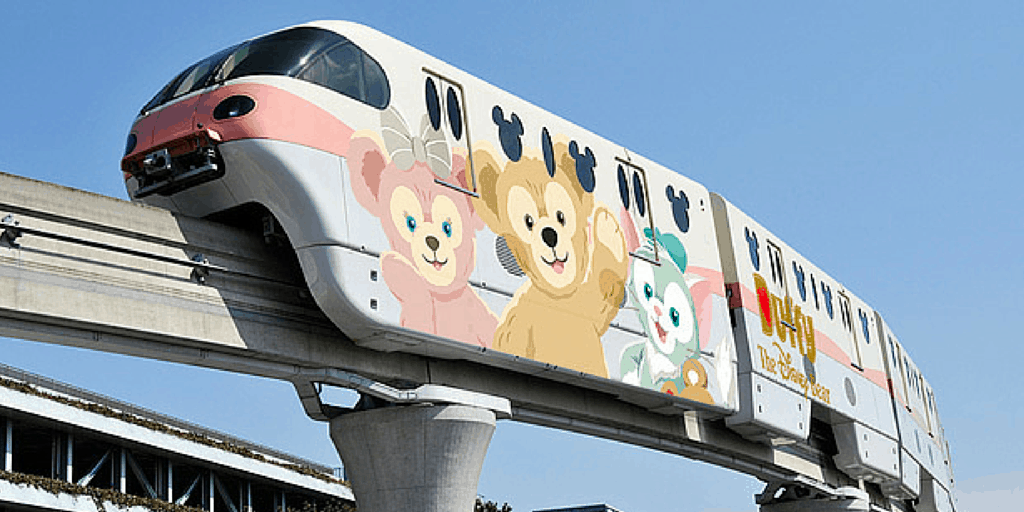 Duffy Themed Monorail Coming to Tokyo Disney Resort in 2016