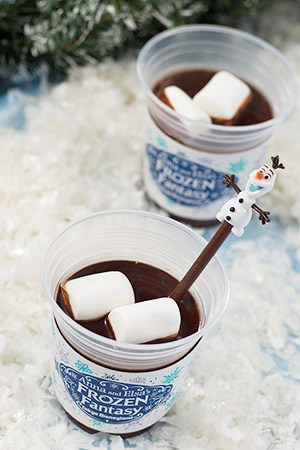 Hot Chocolate Drink ¥350 With Souvenir Spoon ¥750 Available at the following locations... Royal Street Veranda Cleo's Space Place Food Port