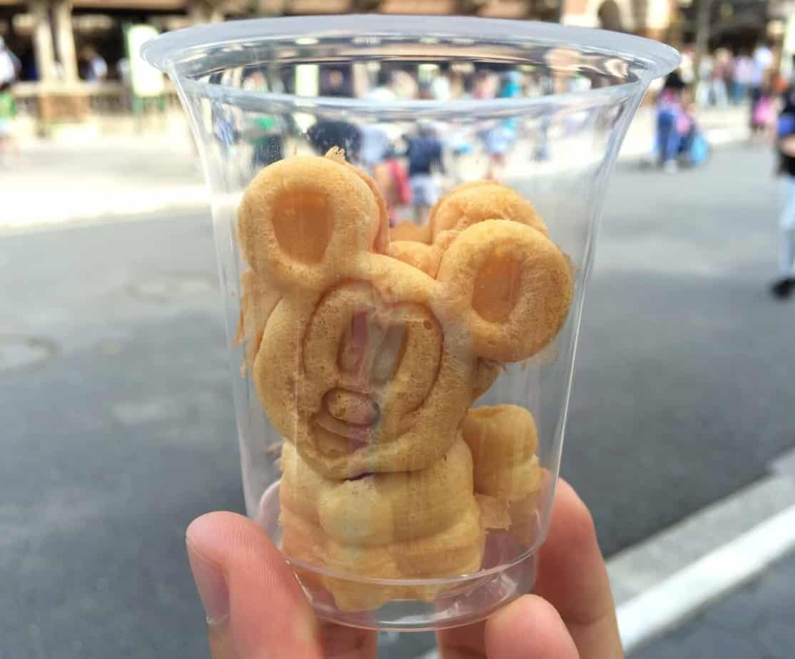 Mini Mickey Waffles