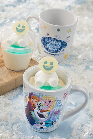 Orange flavored Milk Mousse with Souvenir Cup ¥720 Available at the following locations... Sweetheart Cafe Events Booth