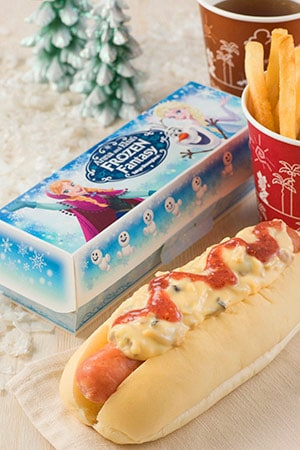 Refreshment Corner Special Set ¥900 Includes... * Hot Dog, with a White Mushroom Cream Sauce *French Fries *Soft Drink Available at Refreshment Corner