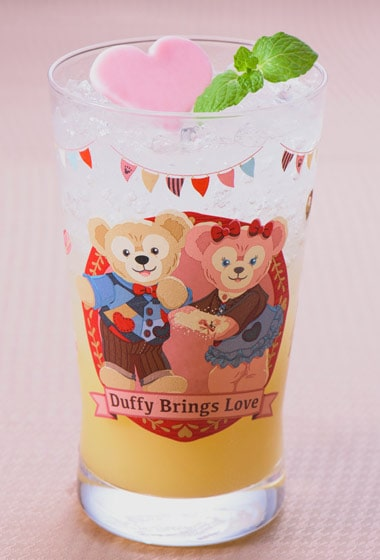 Sweet Duffy Special Drink with Collectible Glass ¥1,860 Also available at Silk Road Garden and BellaVista Lounge